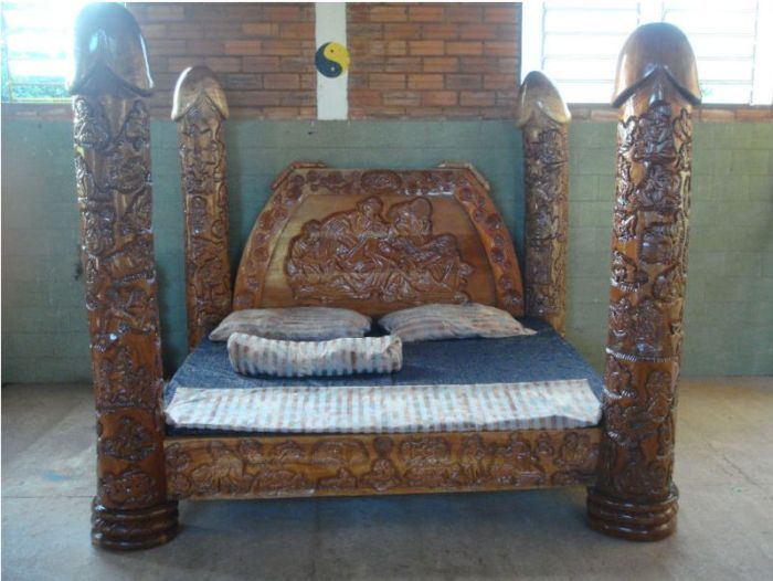 Двуспальная кровать своими рук